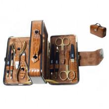 ZauberМаникюрный набор (чемодан золотой), MS-167G