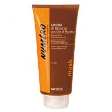 Brelil Маска для волос укрепляющая и питательная с маслом макассар и кератином Numero Macassar Oil 300 мл
