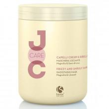 Barex Выравнивающий крем-кондиционер для непослушных волос с маслом семечек льна Joc Cure