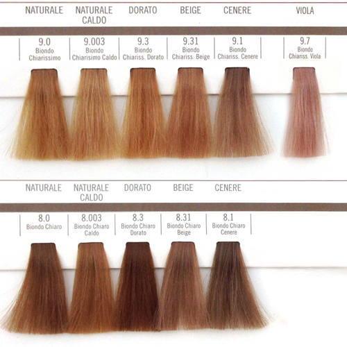 Краска для волос барекс палитра