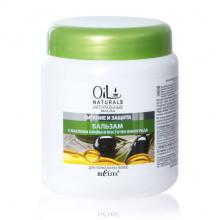 Белита - Витэкс Oil Naturals Бальзам с маслами оливы и косточек винограда Питание и Защита