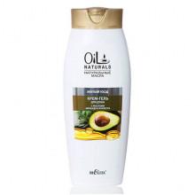 Белита - Витэкс Oil Naturals Крем-гель для душа с маслами авокадо и кунжута Мягкий уход