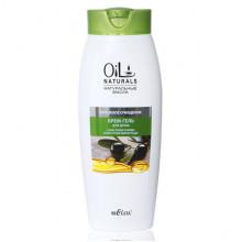 Белита - Витэкс Oil Naturals Крем-гель для душа с маслами оливы и косточек винограда Бережное очищение