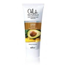 Белита - Витэкс Oil Naturals Скраб для лица Класический с маслом авокадо и кунжута для всех типов кожи