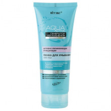 Белита - Витэкс Активно увлажняющая очищающая пенка для умывания лица Aqua Active
