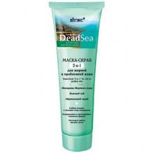 Белита - Витэкс Маска-скраб для жирной и проблемной кожи 2в1 Dead Sea