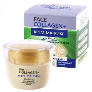 Белита - Витэкс Крем-матрикс для лица для жирной и нормальной кожи Face Сollagen+