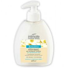 Белита - Витэкс Intimate Крем-мыло для интимной гигиены для чувствительной кожи Sensitive