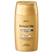 Белита - Витэкс Retinol+Mg Тоник для свежести и поддержания упругости кожи лица