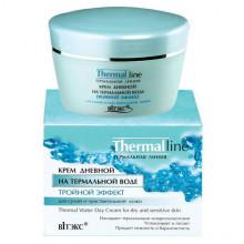 """Белита - Витэкс Дневной крем для сухой и чувствительной кожи """"Тройной эффект"""" Thermal line"""