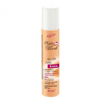 Белита - Витэкс Лак–блеск для волос с протеинами шёлка ультрасильной фиксации Живой шелк (215 мл)