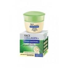 """Белита - Витэкс Крем-матрикс для жирной и нормальной кожи """"Матирующий эффект"""" Face Collagen+"""