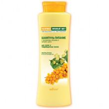 Белита - Витэкс Шампунь-питание с экстрактами облепихи и липового цвета для сухих и поврежденных волос