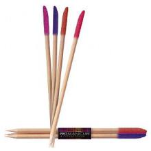 Beter Viva Набор деревянных палочек для маникюра Promanicur Cuticle Sticks, 4 шт, 13.5 см, в блистере