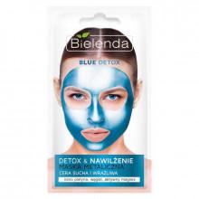 Bielenda Маска для лица с содержанием металлов для сухой и чувствительной кожи Blue Detox