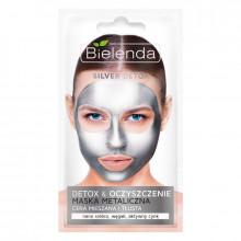 Bielenda Маска для лица с содержанием металлов для смешанной и жирной кожи Silver Detox