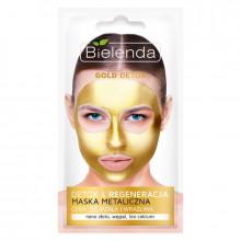 Bielenda Маска для лица с содержанием металлов для зрелой кожи Gold Detox
