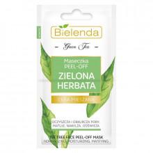 Bielenda Маска для комбинированной кожи лица с эффектом Peel-Off Green Tea