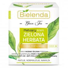Bielenda Дневной матирующий крем для лица Green Tea
