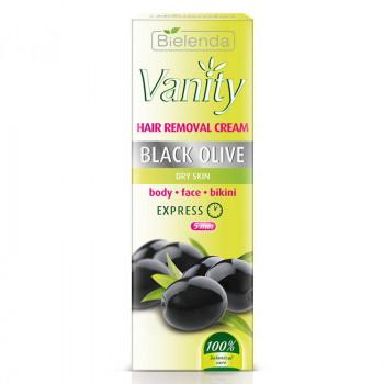 """Bielenda Универсальный крем для депиляции для сухой кожи """"Черная оливка"""" Vanity"""