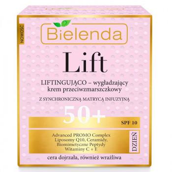 Bielenda Разглаживающий дневной крем-лифтинг для лица против морщин 50+ Lift
