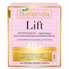 Bielenda Укрепляющий ночной крем-лифтинг для лица против морщин 40+ Lift