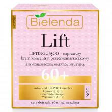 Bielenda Омолаживающий ночной крем-лифтинг для лица против морщин 60+ Lift