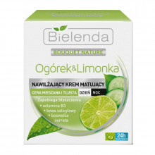 Bielenda Универсальный крем для жирной и комбинированной кожи лица Cucumber & Lime