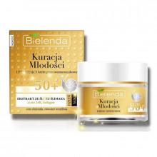 Bielenda Крем-лифтинг для лица против морщин со слизью улитки 50+ Kuracja Mlodos