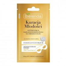 Bielenda Маска-лифтинг для кожи вокруг глаз со слизью улитки Kuracja Mlodos