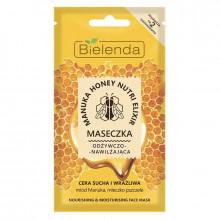 Bielenda Питательная и увлажняющая маска для сухой и чувствительной кожи лица Manuka Honey