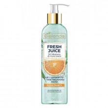 """Bielenda Увлажняющий гель для умывания лица """"Апельсин"""" Fresh Juice"""
