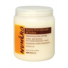 Brelil Восстанавливающая крем-маска для волос с овсом Numero Avena (1000 мл)