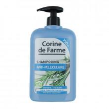 Corine de Farme Шампунь против перхоти с экстрактом розмарина и белого чая для всех типов волос Family