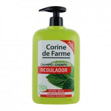 Corine de Farme Шампунь с грейпфрутом и листьями мяты для всех типов волос Family