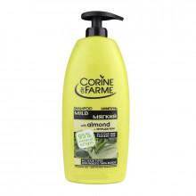 Corine de Farme Мягкий шампунь с миндалем и медом для всех типов волос Family