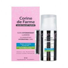 Corine de Farme Увлажняющий иллюминирующий крем для лица с экстрактом личи и белого чая Face Care