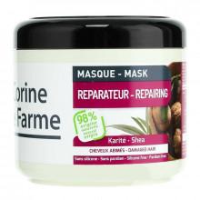 Corine de Farme Восстанавливающая маска с маслом карите и экстрактом оливок для поврежденных волос Family
