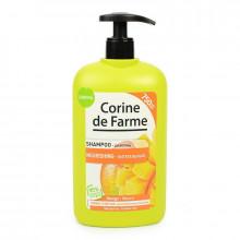 Corine de Farme Family Шампунь питательный с манго и кокосовым молочком для нормальных и сухих волос