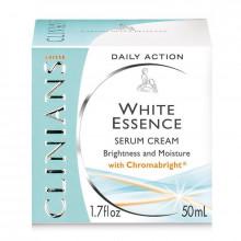 Распродажа Clinians Отбеливающая крем-сыворотка для лица против пигментных пятен White Essence