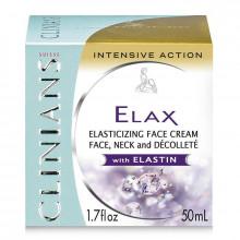 Clinians Крем-лифтинг для лица, шеи и декольте с эластином Elax