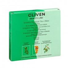 Cliven Депиляционные полоски для лица и зоны бикини Beauty Line