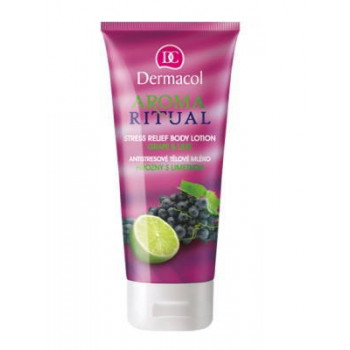 Dermacol Body Aroma Ritual Молочко для тела антистресс Виноград и Лайм Stress Relief Body Milk