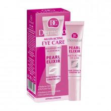 Dermacol Крем для век для сияющей кожи с экстрактом жемчуга Multi-Active Pearl Elixir