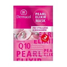 Распродажа Dermacol Разглаживающая маска для сияющей кожи с экстрактом жемчуга Multi-Active Pearl Elixir