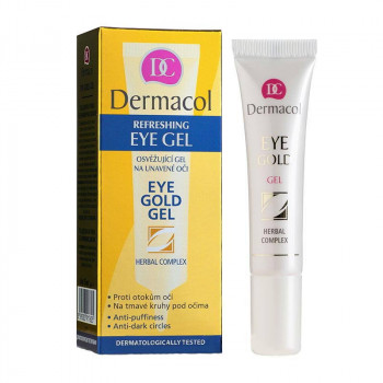 Распродажа Dermacol Гель для век против отеков и темных кругов под глазами Eye Gold Gel