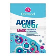 Dermacol Стягивающая маска для жирной, комбинированной и проблемной кожи лица, склонной к акне AcneClear
