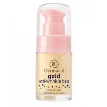 Dermacol Make-Up Base Gold Anti-Wrinkle База под макияж омолаживающая с активным золотом (помпа)