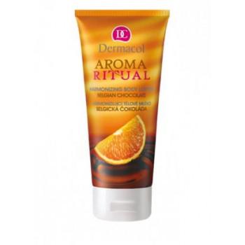 Dermacol Body Aroma Ritual Молочко для тела гармонизирующее Бельгийский шоколад Harmonizing Body Lotion