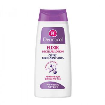 Распродажа Dermacol Очищающая мицеллярная вода для снятия макияжа с лица, глаз и губ Micellar Lotion Elixir